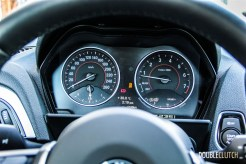 2014 BMW M235i steering wheel and cockpit
