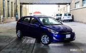 2014 Hyundai Accent GLS front 1/4