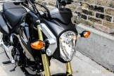 First Ride: 2015 Honda GROM headlight