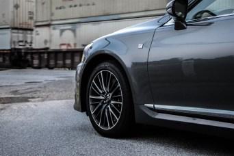 2014 Lexus LS460 F-Sport AWD profile front