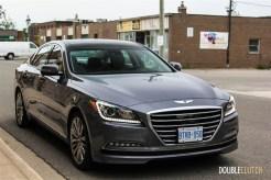 2015 Hyundai Genesis 5.0 Ultimate front 1/4