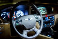 2015 Hyundai Genesis 3.8 cockpit