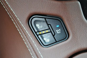 2015 Chevrolet Suburban LTZ seat ventilation