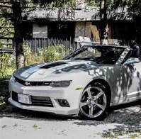 2015 Chevrolet Camaro SS Convertible front half
