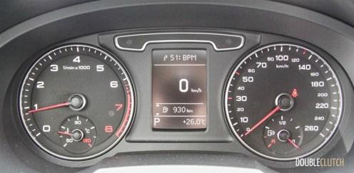 2015 Audi Q3 TFSI instrument cluster