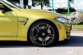 2015 BMW M4 front half