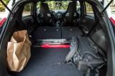 2014 Nissan Juke Nismo RS seats folded flat