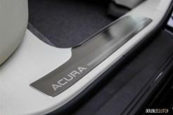 First Drive: 2015 Acura RLX Sport Hybrid door sill plate