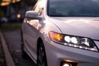 Second Look: 2014 Honda Accord Coupe V6 LED headlight/profile