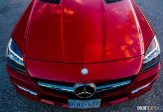 2015 Mercedes-Benz SLK350 hood