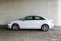 2015 Audi A3 TDI side profile