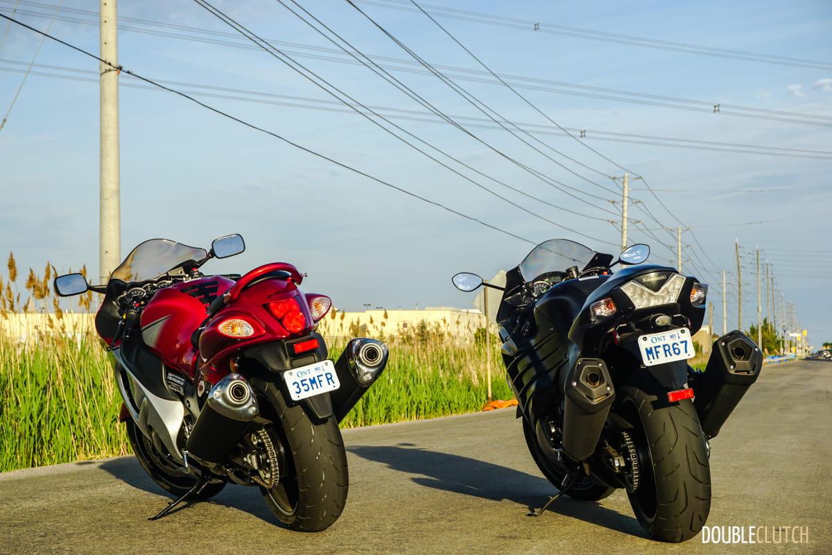 2016 Kawasaki Ninja Zx 14r Vs 2016 Suzuki Hayabusa