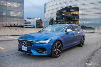 2018 Volvo V90 T6 R-Design review