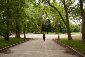 Paolo Spada al Parco Ducale di Parma