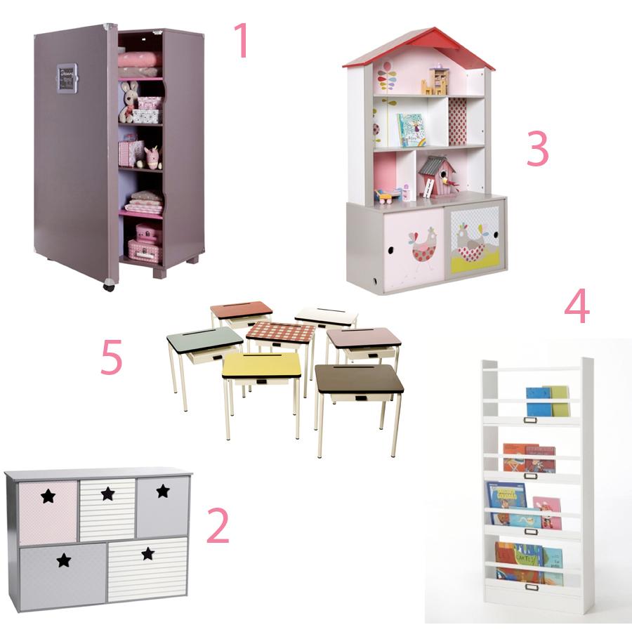 Déco : des meubles pour (toute) petite fille - Doudou & Stiletto
