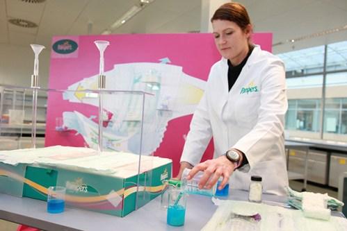 Centre de recherche et développement de Schwalbach - Crédit photo Pampers