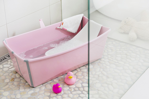 Stokke Flexi Bath Pink 140402-9