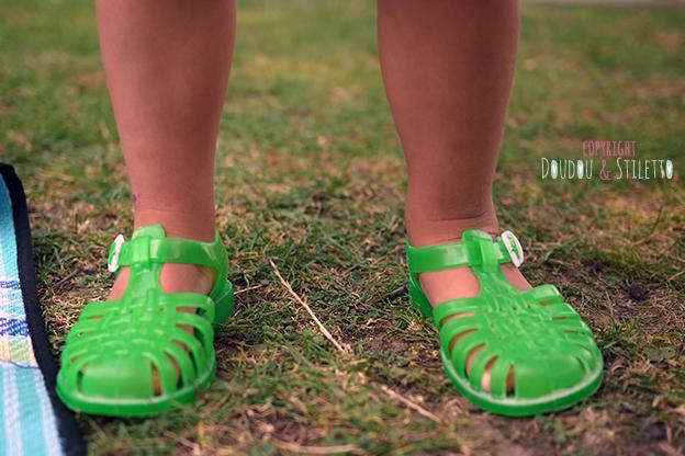 Meduse sandales plage