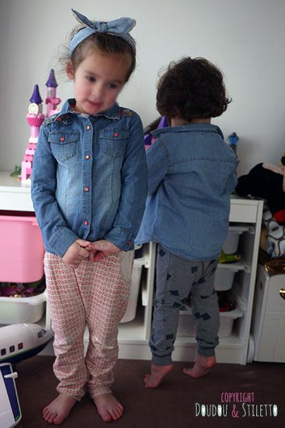 Chemise en jean La Redoute