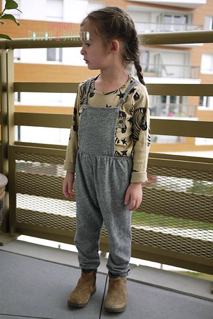 Combinaison Zara t shirt Mini Rodini
