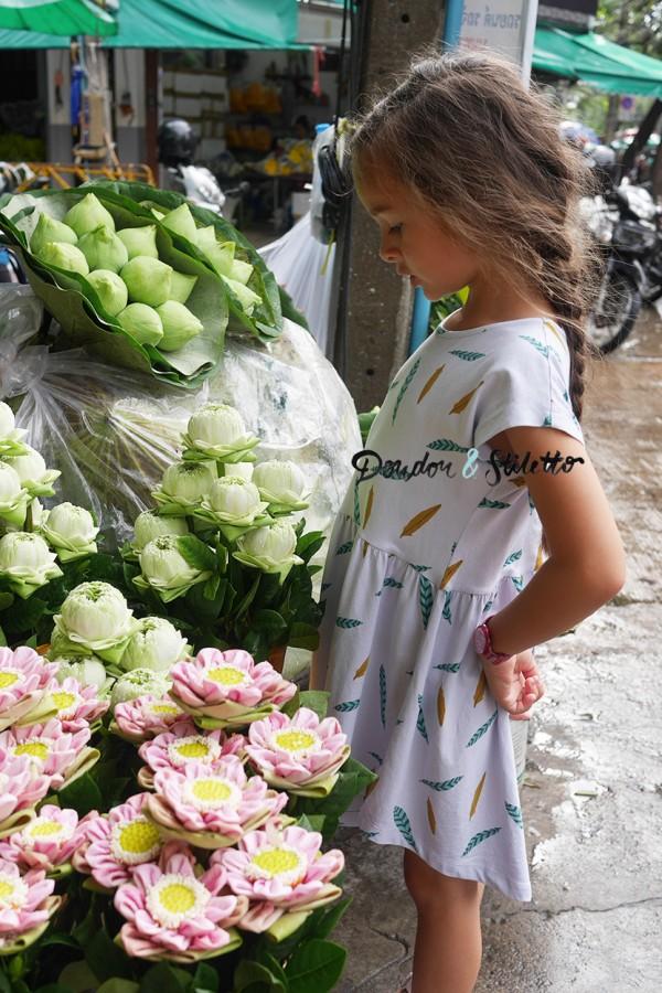 Bangkok Marché aux fleurs
