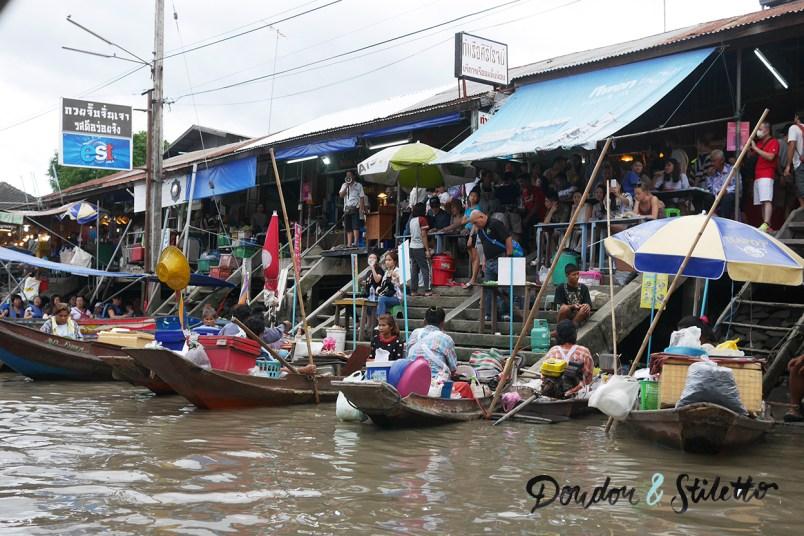 marché flottant Amphawa