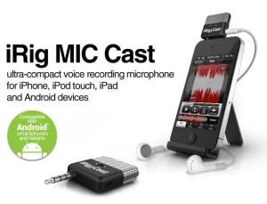 iRig MIC Cast microphone from IK Multimedia
