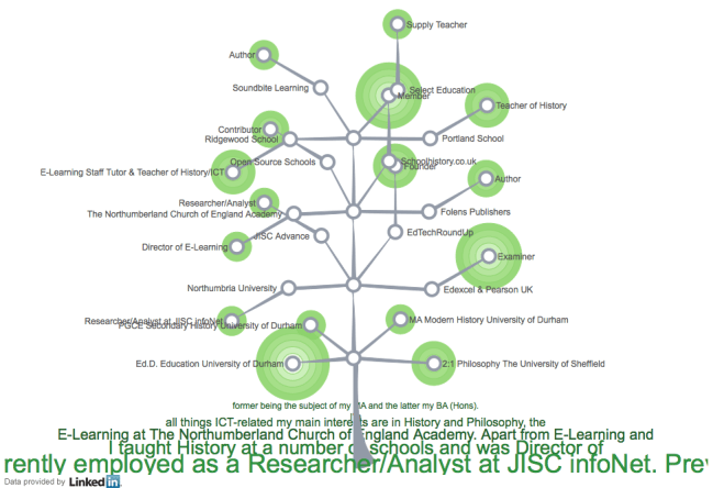 LinkedIn treemap