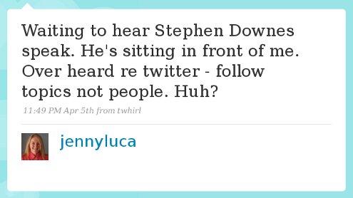 Jenny Luca - tweet
