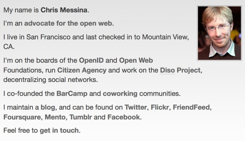 Chris Messina - profile