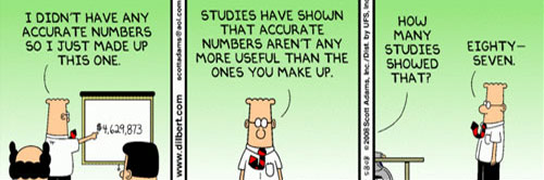 Dilbert on graphs