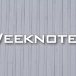 Weeknote 29/2013