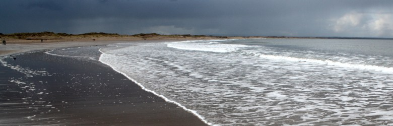 Druridge Bay - tide