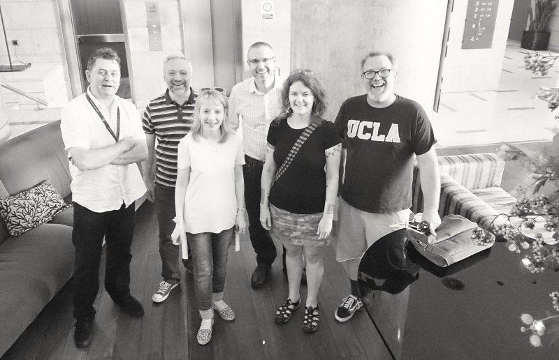 EdTech crew in Barcelona