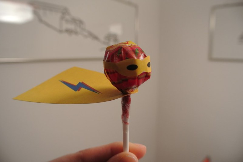 Lollypop superhero