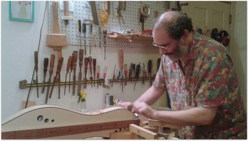 Doug Berch - Dulcimer Builder and Fashionista