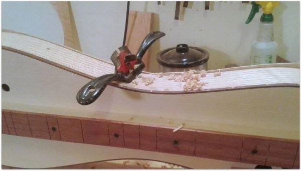 Dulcimer Builder's Friend - The Friendly Spokeshave