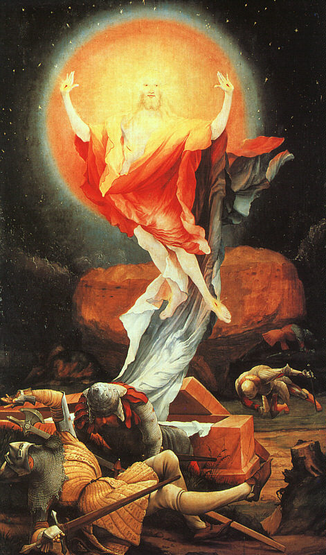 Resurrection of Christ by Matthias Grunewald