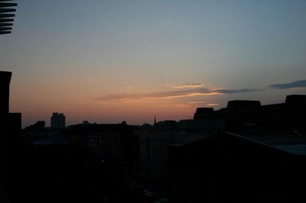 Charleston Skyline by Night
