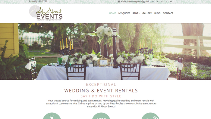 Web Design for San Luis Obispo