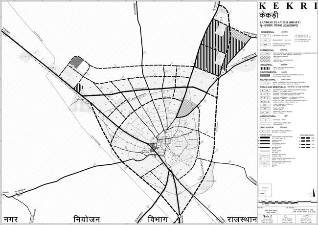 Kekri Master Development Plan 2031 Map PDF Download