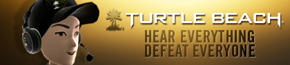 Turtle Beach XBOX Avatar Gear UK & US Dashboard Advert FREEBIE