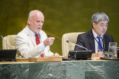 General Assembly Considers Peacekeeping Operations