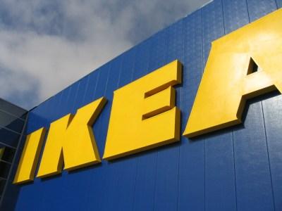 Ikea wallpaper