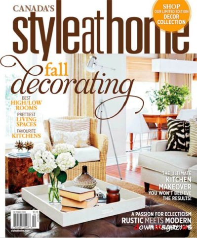 Style at Home Magazine October 2012 » Download PDF ...