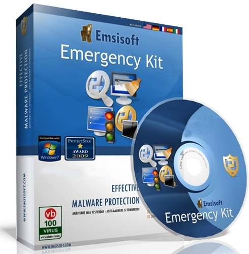 Emsisoft Emergency Kit 11.0.0.6082 DC 29.01.2016 Multilingual Portable
