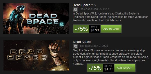 dead-space-sale-five-dollars-steam