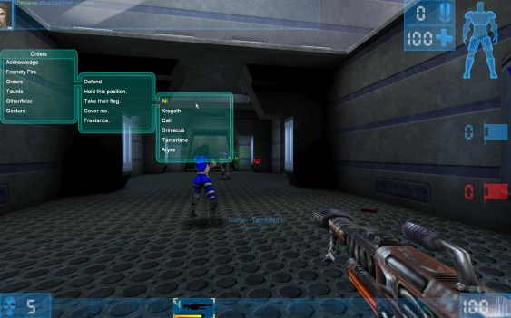 Bot Command Menu - Unreal Tournament '99 GOTY