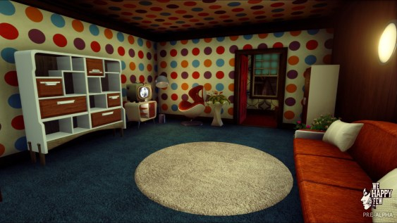 Upstairs Interior Home We Happy Few (Pre-Alpha)