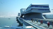 Bering Strait Bridge Concept New York London Via Siberia